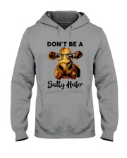 Dont Be A Satty Heifer Hooded Sweatshirt thumbnail