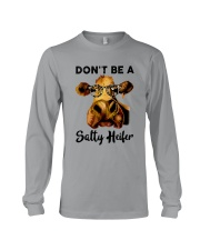 Dont Be A Satty Heifer Long Sleeve Tee thumbnail