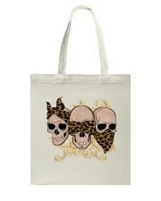 Love Of Skull Tote Bag thumbnail