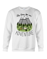 Its Time For An Adventure Crewneck Sweatshirt thumbnail