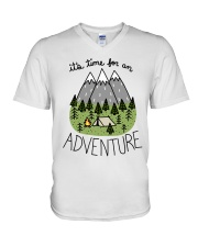 Its Time For An Adventure V-Neck T-Shirt thumbnail