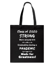 Class Of 2020 Strong Tote Bag thumbnail