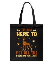 Doberman Pinschers Tote Bag thumbnail