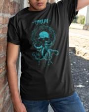 Cthulhu Mythos Classic T-Shirt apparel-classic-tshirt-lifestyle-27