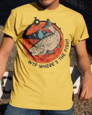 Where's The Fish Classic T-Shirt apparel-classic-tshirt-lifestyle-28