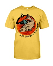 Where's The Fish Classic T-Shirt front