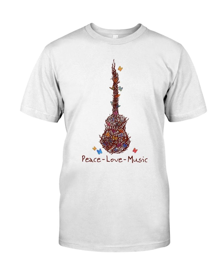 Peace Love Music Classic T-Shirt