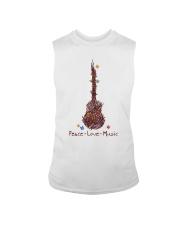 Peace Love Music Sleeveless Tee thumbnail