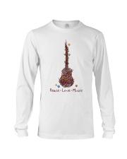 Peace Love Music Long Sleeve Tee thumbnail
