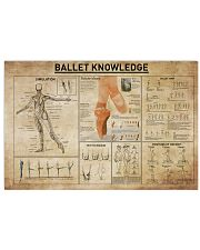 Ballet Knowledge 17x11 Poster front