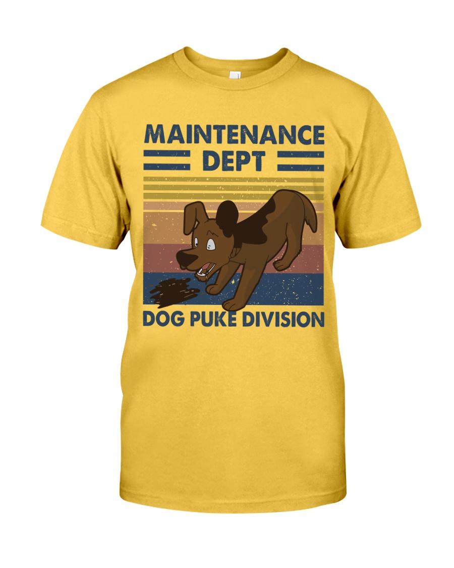 Maintenance Dept Classic T-Shirt