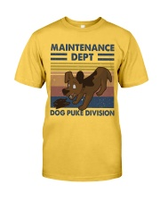 Maintenance Dept Classic T-Shirt front