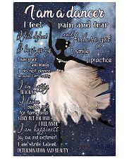 I Am A Dancer 11x17 Poster front