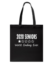 Seniors 2020 Tote Bag tile