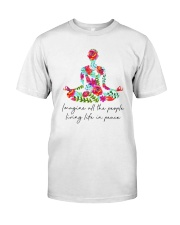 People Living Life In Peace Premium Fit Mens Tee thumbnail