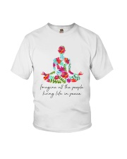 People Living Life In Peace Youth T-Shirt thumbnail