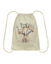 Stay Wild Drawstring Bag thumbnail