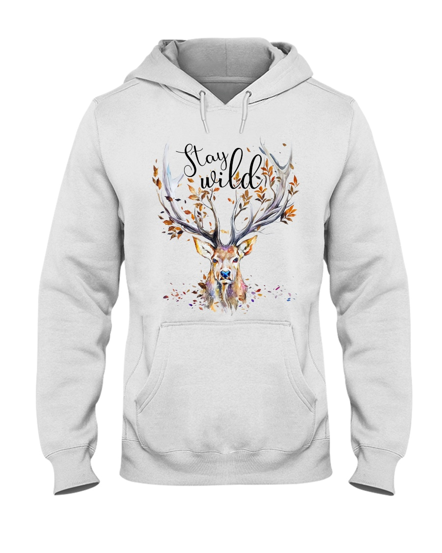 Stay Wild Hooded Sweatshirt