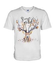 Stay Wild V-Neck T-Shirt thumbnail