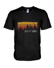 Keep It Simple 1 V-Neck T-Shirt thumbnail