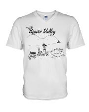 Beaver Valley V-Neck T-Shirt thumbnail