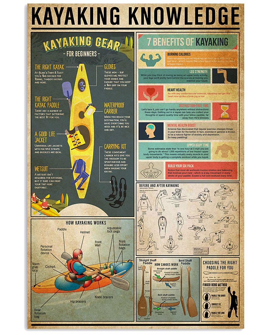 Kayaking Knowledge 11x17 Poster