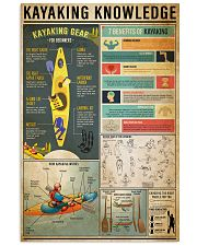 Kayaking Knowledge 11x17 Poster front