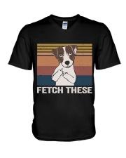 Fetch These V-Neck T-Shirt thumbnail