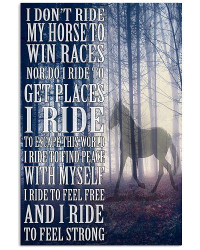 I Dont Ride My Horse