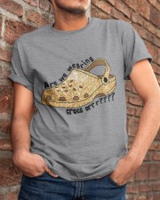 Are We Wearing Crocs Or Classic T-Shirt apparel-classic-tshirt-lifestyle-26