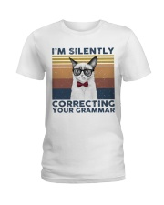 I'm Silently Ladies T-Shirt tile