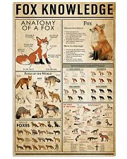 Fox Knowledge 11x17 Poster front