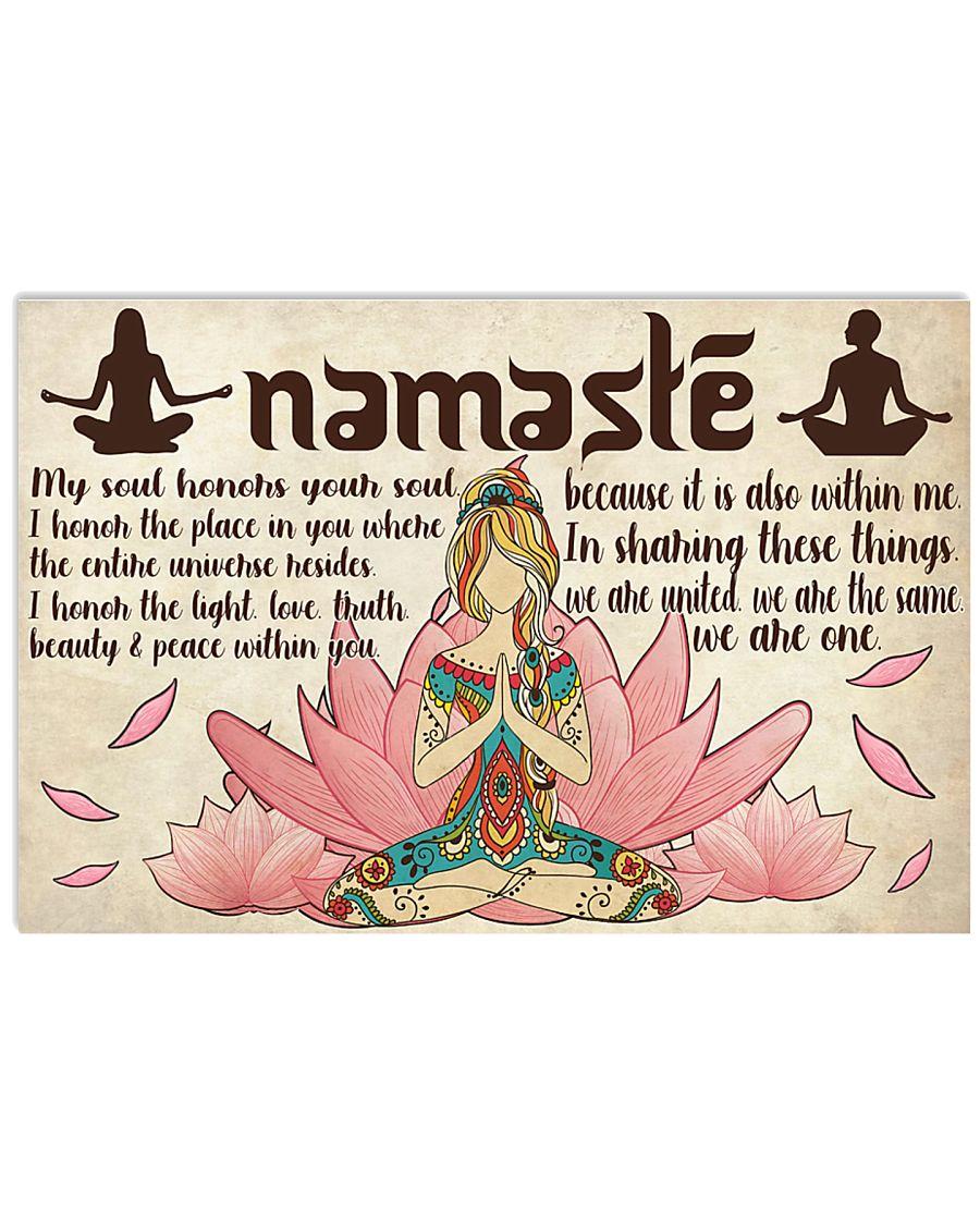 Namaste 24x16 Poster