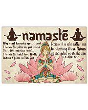 Namaste 24x16 Poster front