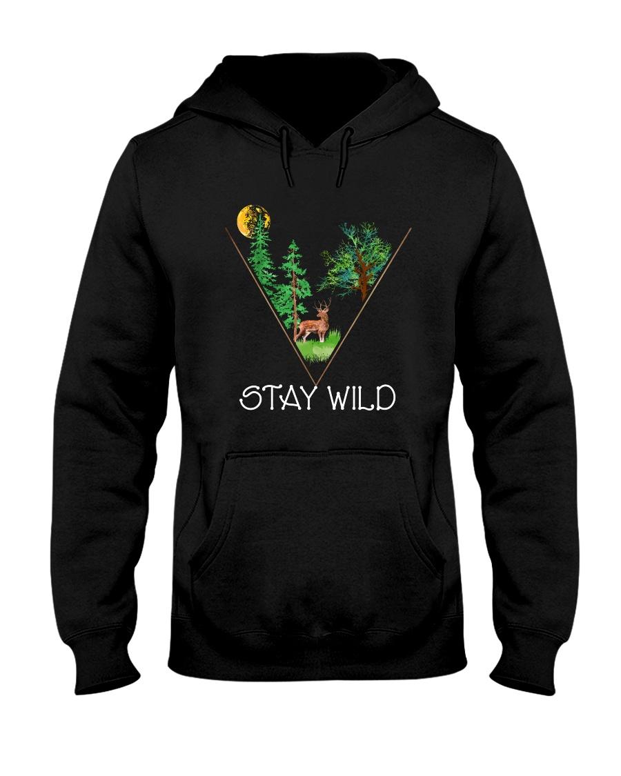 Stay Wild Hooded Sweatshirt