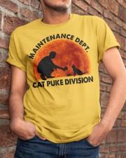 Cat Puke Division Classic T-Shirt apparel-classic-tshirt-lifestyle-26