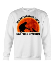Cat Puke Division Crewneck Sweatshirt thumbnail
