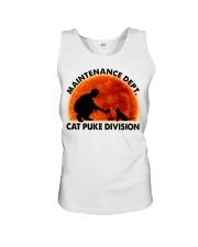 Cat Puke Division Unisex Tank thumbnail