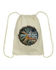 And Into The Forest Drawstring Bag thumbnail