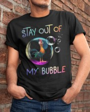 Stay Out Of My Bubble Classic T-Shirt apparel-classic-tshirt-lifestyle-26