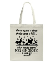 She Also Needs Dogs  Tote Bag thumbnail