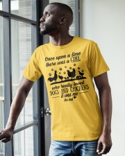 She Also Needs Dogs  Classic T-Shirt apparel-classic-tshirt-lifestyle-front-38