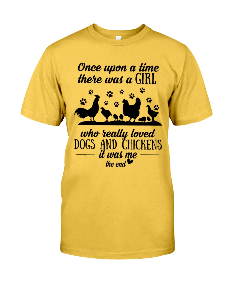 She Also Needs Dogs  Classic T-Shirt