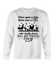 She Also Needs Dogs  Crewneck Sweatshirt thumbnail