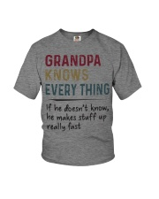 Grandpa Knows Every Thing Youth T-Shirt thumbnail
