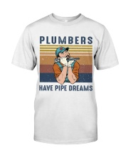 Plumbers Have Pipe Dreams Classic T-Shirt thumbnail