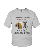 Yorkshire Terriers Dog Youth T-Shirt thumbnail