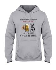 Yorkshire Terriers Dog Hooded Sweatshirt thumbnail