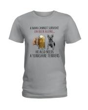 Yorkshire Terriers Dog Ladies T-Shirt thumbnail