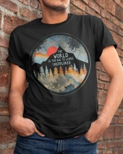 The World Is Too Big Classic T-Shirt apparel-classic-tshirt-lifestyle-26